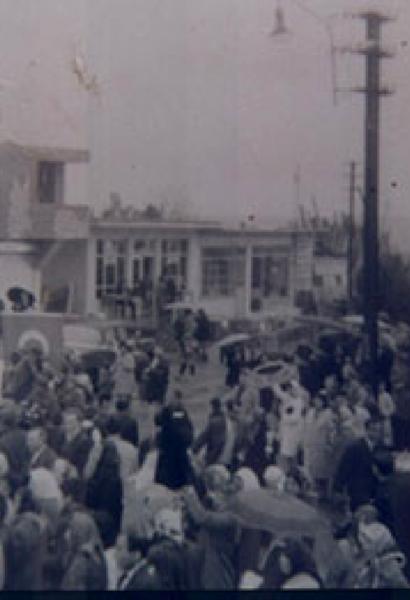 Esenler Meydan'dan bir görüntü
